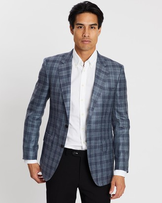 Gieves And Hawkes Formal Plaid Blazer
