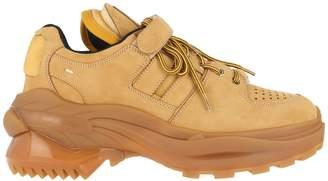 Maison Margiela Suede Leather Retro Fit Sneakers