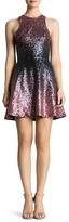 Dress the Population Andi Ombré Sequin Dress