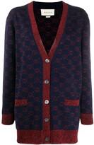 Gucci jacquard GG knitted cardigan