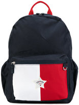 Tommy Hilfiger Junior - star logo colour block backpack - kids - Polyester - One Size