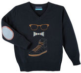 Andy & Evan Boys 2-7 Long Sleeve Graphic Sweater