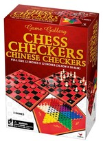 Cardinal Chess, Checkers and Chinese Checkers Board Game Set