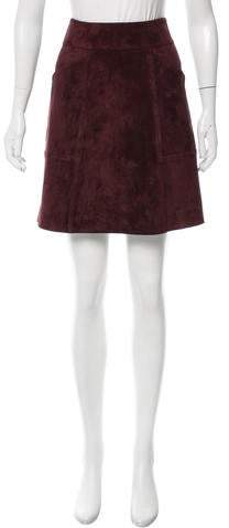 Derek Lam 2016 Patchwork Skirt w/ Tags