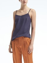 Banana Republic Solid Lightweight Wool Essential Camisole