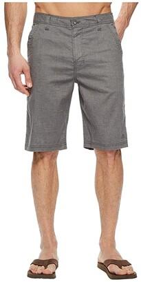 Prana Furrow 11 Short (Black) Men's Shorts