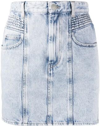 Etoile Isabel Marant High-Rise Denim Skirt