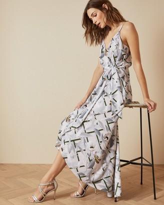 Ted Baker OLEVYA Everglade sleeveless wrap dress