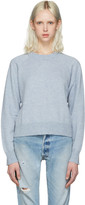Alexander Wang Blue Cropped Sweater