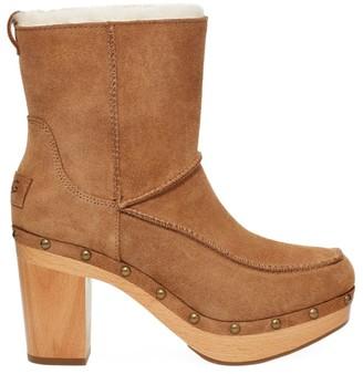 UGG Kouri Shealing-Lined Suede Boots