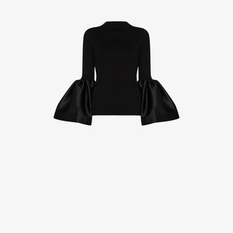 Marques Almeida Puff-Sleeve Long-Sleeve Top