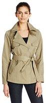 Sam Edelman Women's Gabriella Short Trench Coat