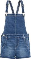H&M Denim Bib Overall Shorts - Retro denim - Ladies