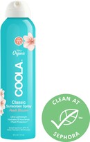 Thumbnail for your product : Coola Classic Body Organic Sunscreen Spray SPF 70 Peach Blossom