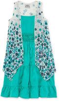 Knitworks Knit Works Sleeveless Sundress & Cozy 2-pc. Set - Girls 4-6