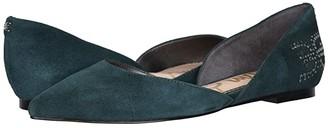 Sam Edelman Zappos 20th x Rodney (Black Kid Suede Leather) Women's Shoes