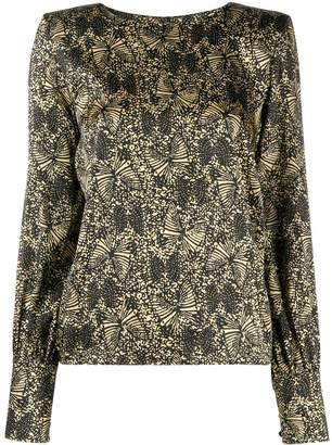 FEDERICA TOSI abstract print blouse