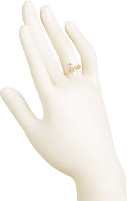 Made In Italy 14k Gold Script Love Ring