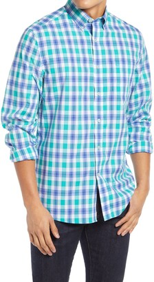 Southern Tide Skipjack Check Button-Down Shirt
