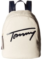 Tommy Hilfiger Tommy Script Backpack Canvas