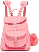 Grafea Katya Backpack with Bear Pom Pom