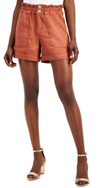 INC International Concepts I.n.c. Petite Paperbag Waist Shorts, Created for Macy's