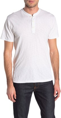 Rag & Bone Core Short Sleeve Henley