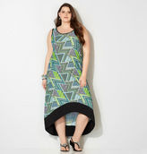 Avenue Patchwork Hi Lo Dress