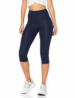 Aurique Amazon Brand Women's High Waisted Capri Running Leggings