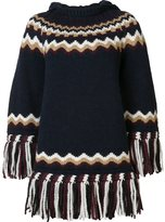 RED Valentino fringed jumper