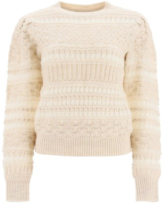 Etoile Isabel Marant Crochet Knit Pullover
