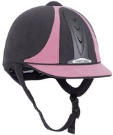 Harry Hall Grey and Pink Legend Riding Helmet