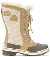 Sorel tall lace up boots