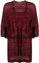 Missoni Mare V-neck sheer cover-up