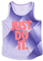 Nike Girl's Speed Blur Dri-Fit Tank