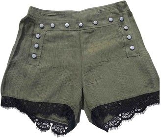 Bel Air Khaki Shorts for Women