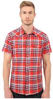 Lucky Brand Short Sleeve San Berdu Shirt