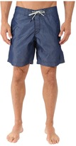 G Star G-Star Dirik Cord Swim Shorts in Indigo Ovil Nylon Rinsed
