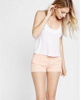 Express twill trouser pocket shorts