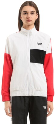 Reebok Classics Vector Color Blocked Track Jacket