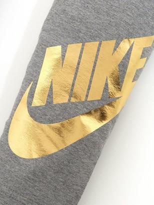 Nike Girls NSW Favorites Shine Legging - Grey