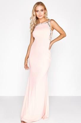 Little Mistress Pink Maxi Dress
