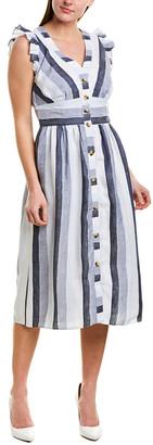 J.Crew Linen Wrap Dress