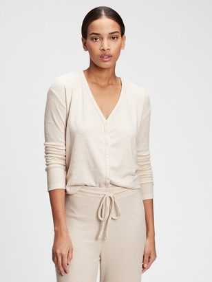 Gap Adult Softspun Ribbed Cardigan