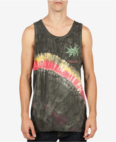 Volcom Men's Yangi Tie-Dye Graphic-Print Logo Cotton Tank