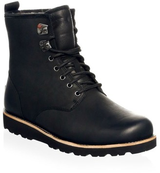 Men's Hannen UGGpure-Lined Leather Waterproof Combat Boots