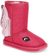 Emu Kids Girls) Hot Pink Fairy Pull-On Boots