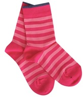 Falke Pink Striped Socks