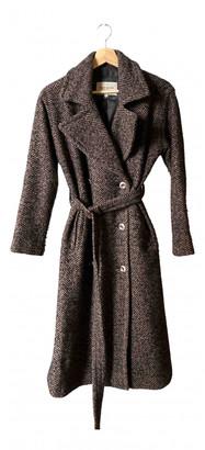 River Island Brown Wool Coats