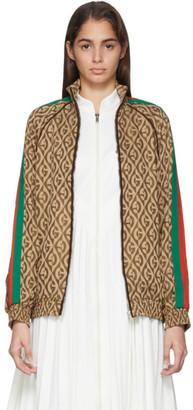 Gucci Brown G Rhombus Jacket